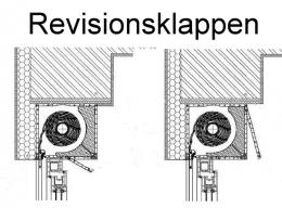 Rolladen-Aufsatzelement mit PVC-Minipanzer