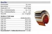 PVC Rolladenpanzer Berlin 52x14 mm Sonderfarben fertig konfektioniert